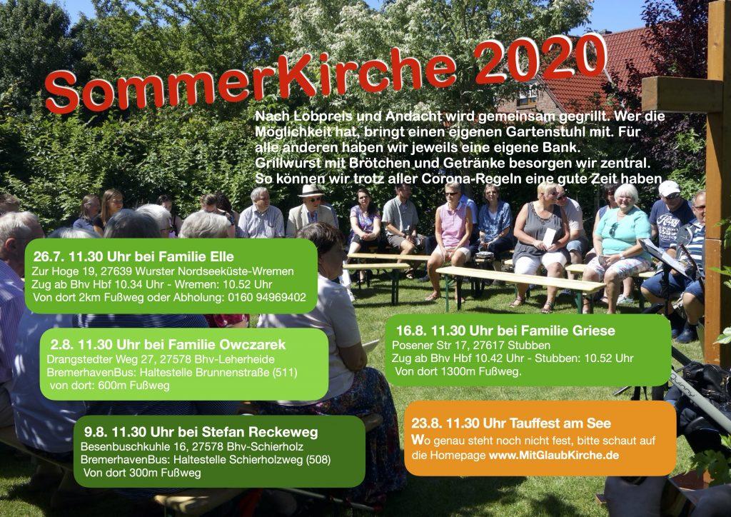 Sommerkirche 2020