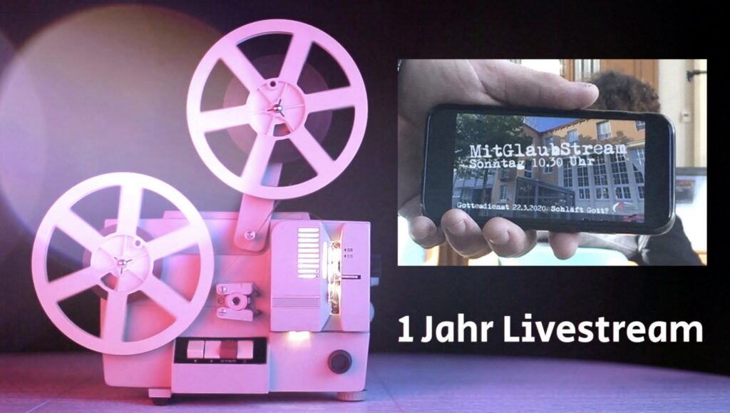 1 Jahr Livestream aus der Friedenskirche
